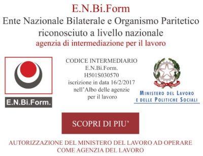Banner E.n.bi.Form per corso HACCP